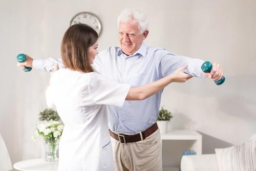 Fisioterapia para mal de Parkinson